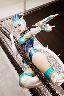 Tiger and Bunny Blue Rose cosplay by Mussum