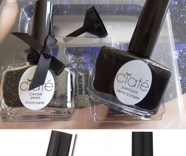 Ciate Bead Nails: New Trend, Ciate Caviar Manicure