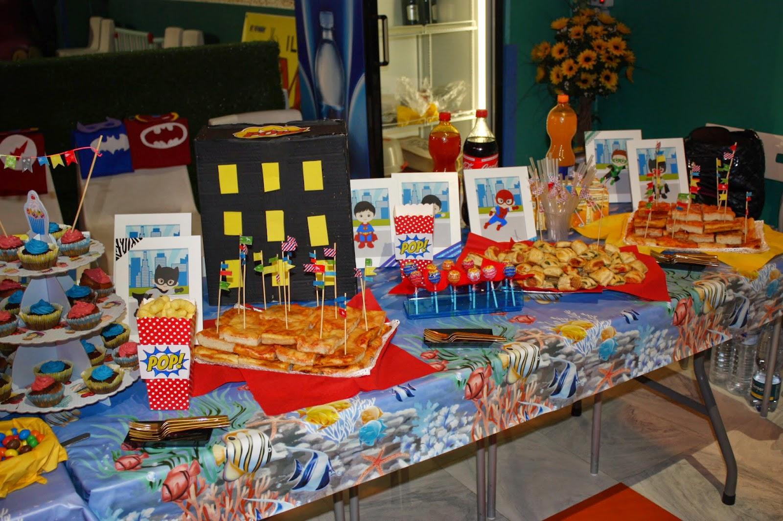 Top La Casin@ di Ale: superhero party: festa a tema super eroi per  CE87