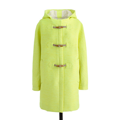 Collection Basket-Weave Toggle Coat