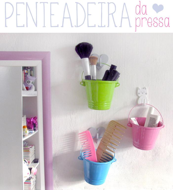 Blog Isabela Valim Dicas de Porta Maquiagem e Porta Bijuteria ~ Como Fazer Um Quarto Rosa Habblive