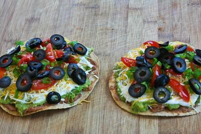 Kalyn's Kitchen®: Vegetarian Seven-Layer Tostadas
