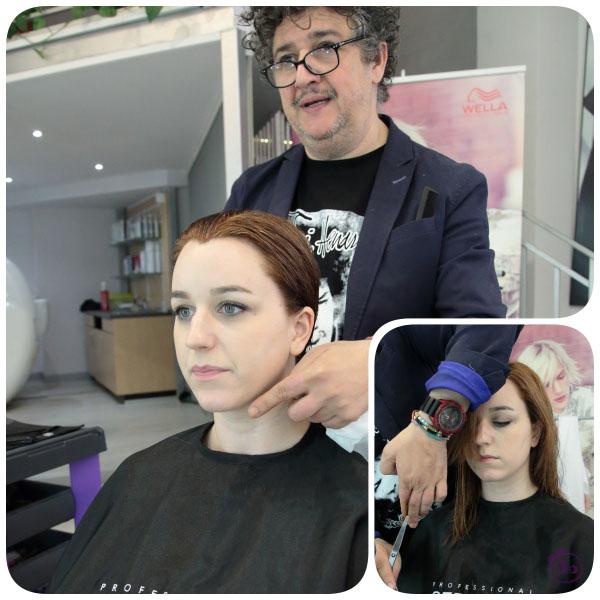 Corte de pelo personalizado en peluqueria mode madrid
