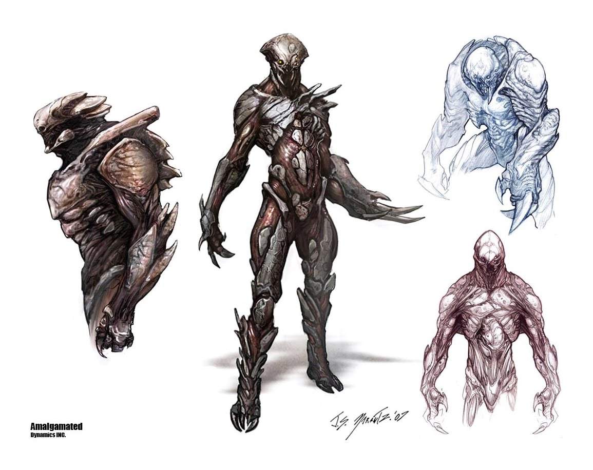 Character Design Notes Spot : Academy of art character and creature design notes