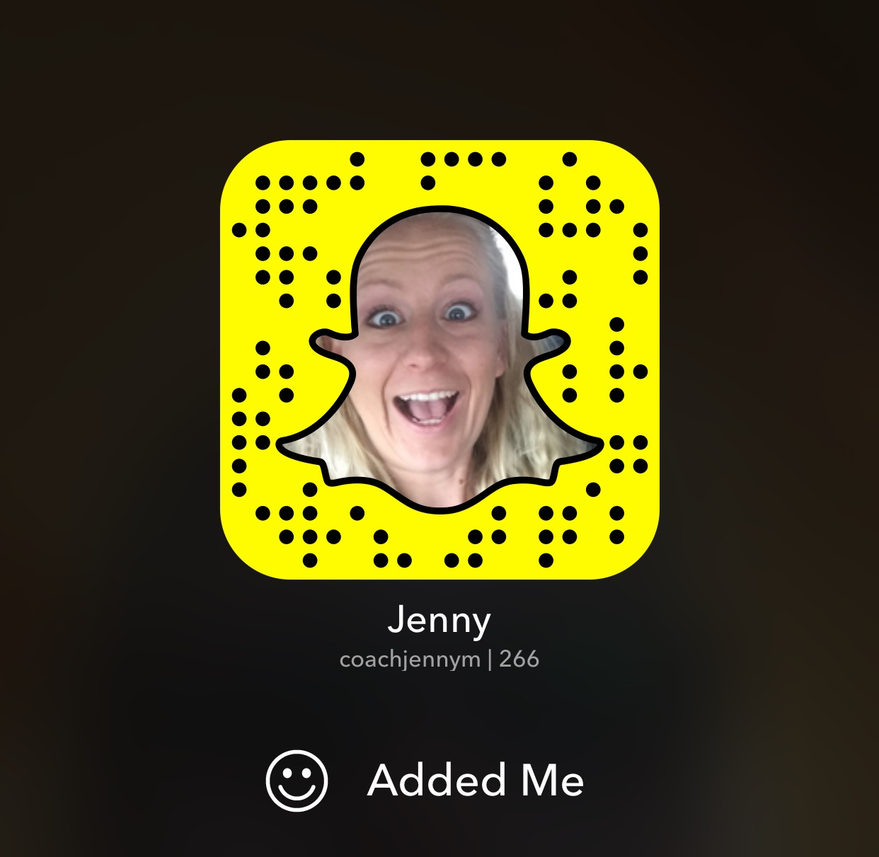 Are you on SnapChat? Add me