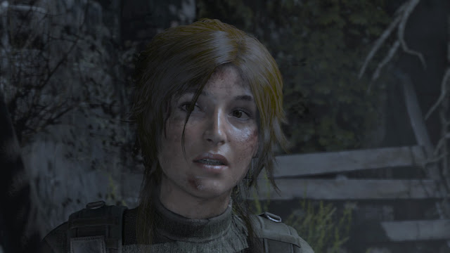 Rise of the Tomb Raider lara croft face night