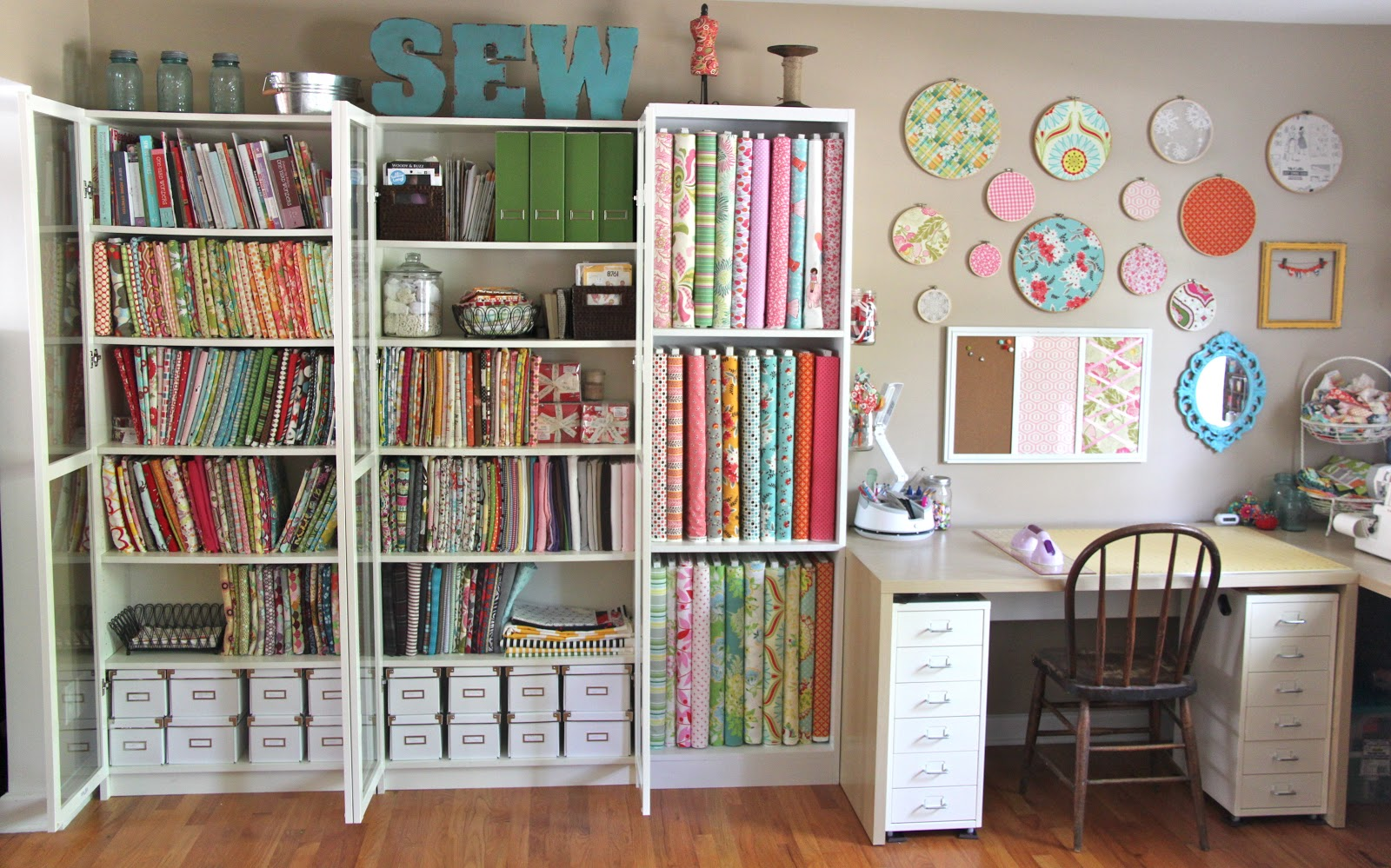 My Sewing Studio Tour The Reveal!