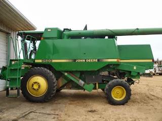 Used John Deere 9500 combine parts