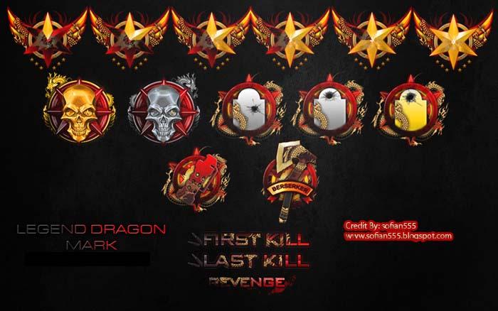 Legend Dragon Kill Marks
