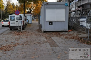 Lokstedter Steindamm - Baustelle