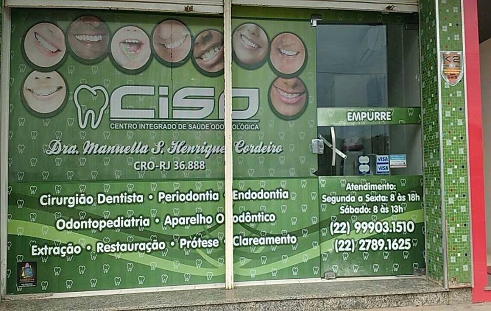 CISO CENTRO INTEGRADO DE SAÚDE ODONTOLÓGICA