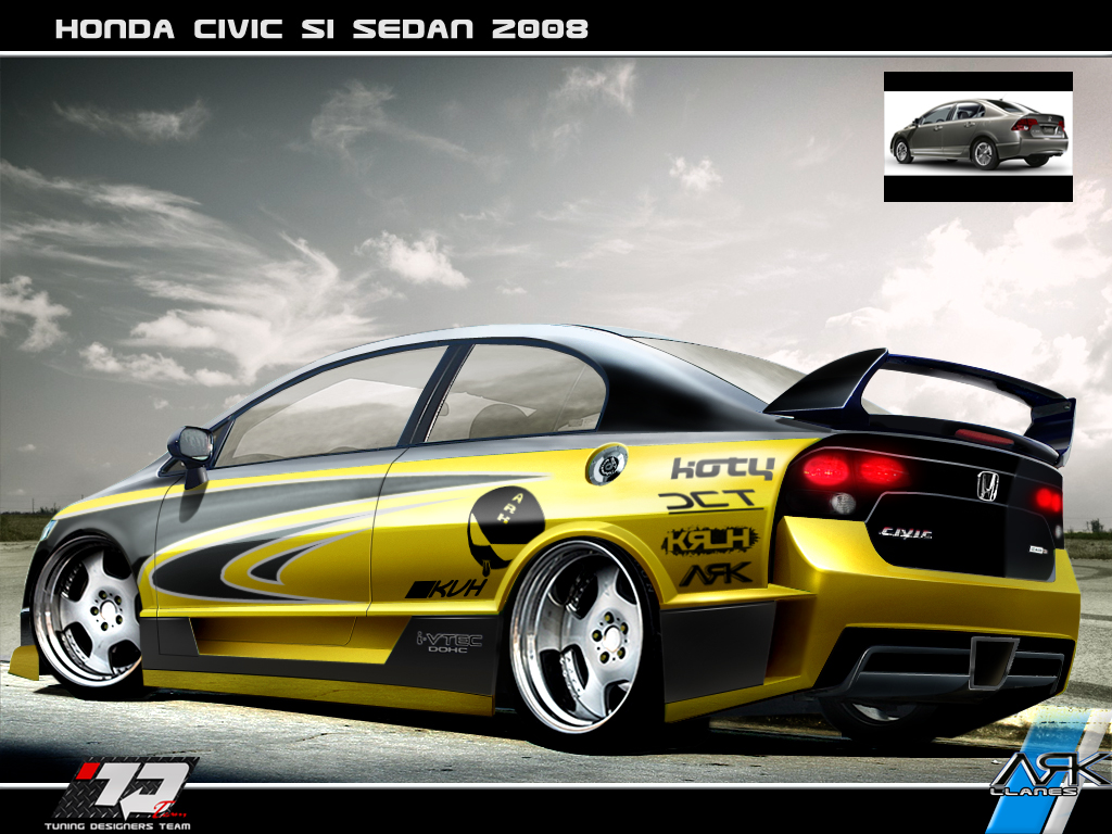 honda modificado: