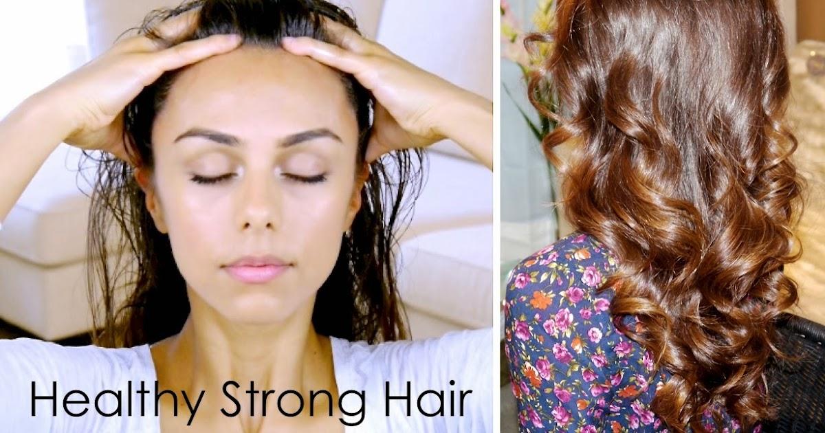 Annie Jaffrey: DIY Scalp Massage for Healthy Strong Hair