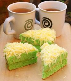 Cara Membuat Kue Bolu Pandan
