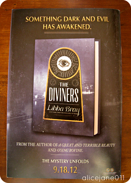 Advertisement for The Diviners