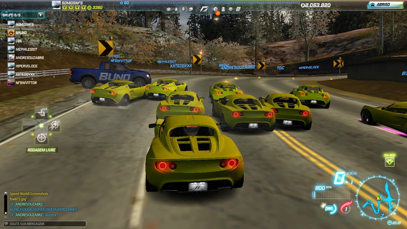 NFS World Lotus Elise Cruise