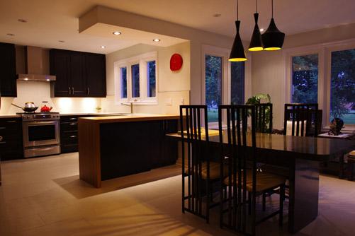 Interiores y 3d reforma sencilla de una cocina - Cocinas tipo loft ...