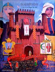 Cartell FESTES de Moros i Cristians, COCENTAINA 2015
