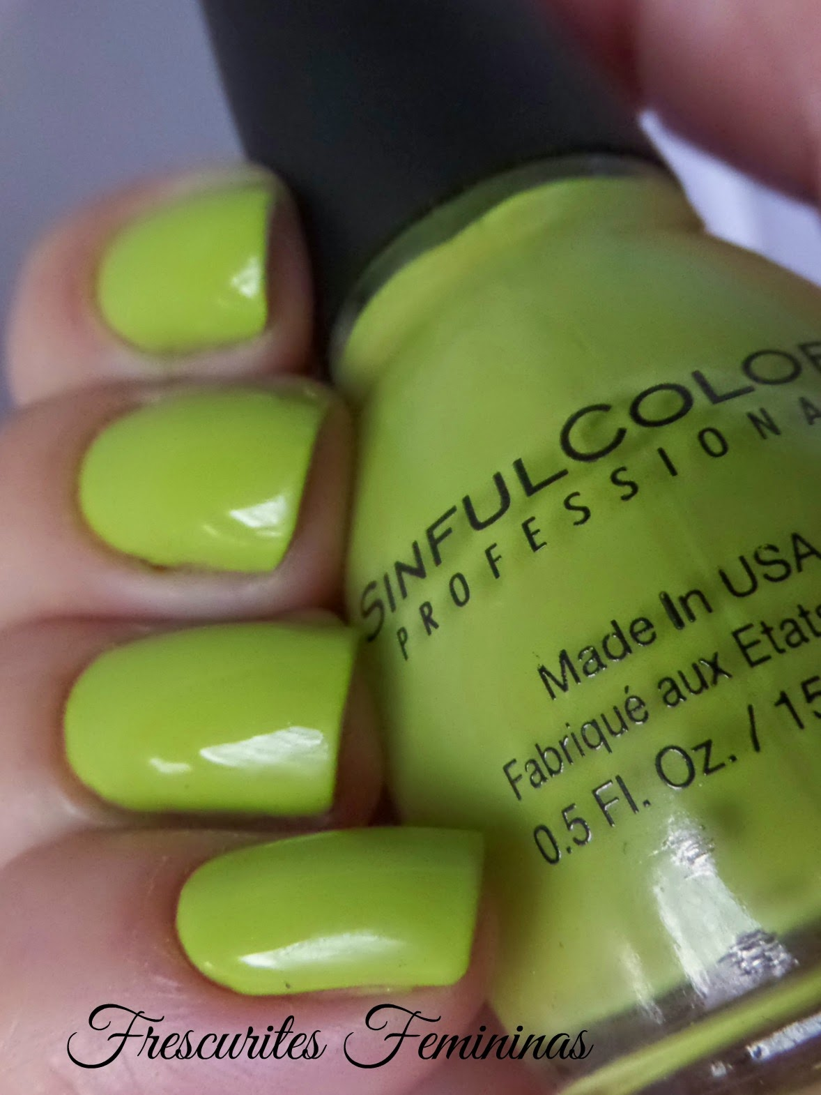 Sinful, Colors, Innocent, Verde, Nail, Polish, Esmalte, sinful colors, Sinful colors innocent, innocent sinful colors