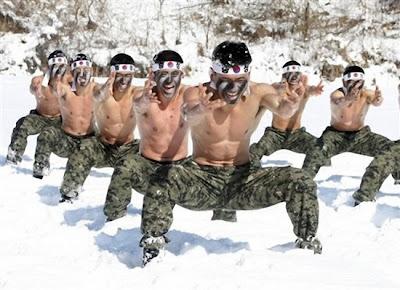 latihan tentera Korea