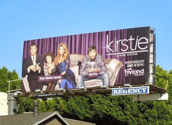 Kirstie sitcom series premiere billboard