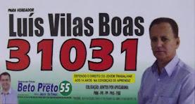 CANDIDATO A VEREADOR LUÍS VILAS BOAS