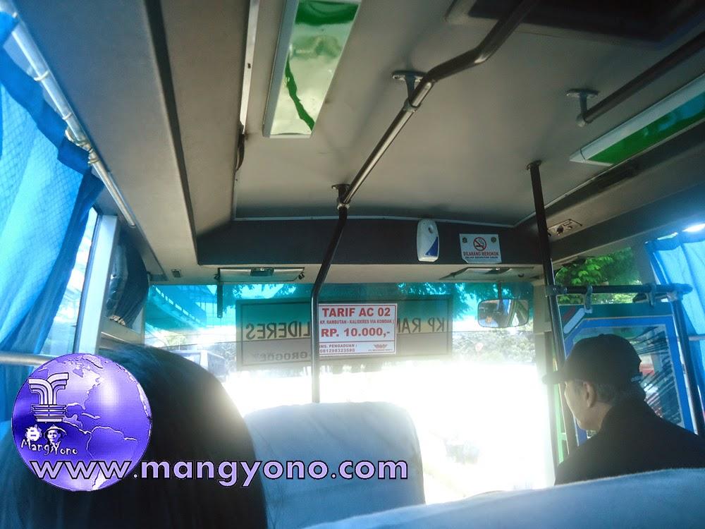 Bus Mayasari Patas Ac 02 Kalideres – Kmp Rambutan Tarif Jelas