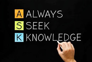 Ask, Seek, Knowledge
