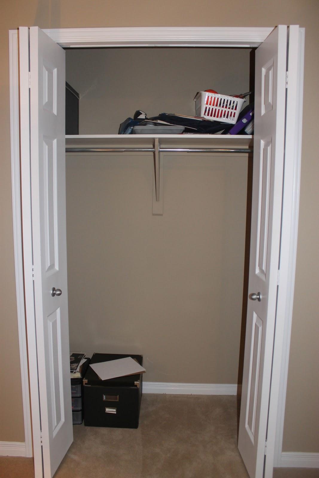 office closet organizer. 8.28.2012 Office Closet Organizer E