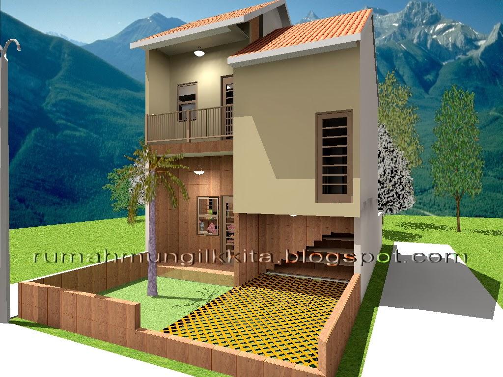 renovasi rumah tipe 30 tanah 72