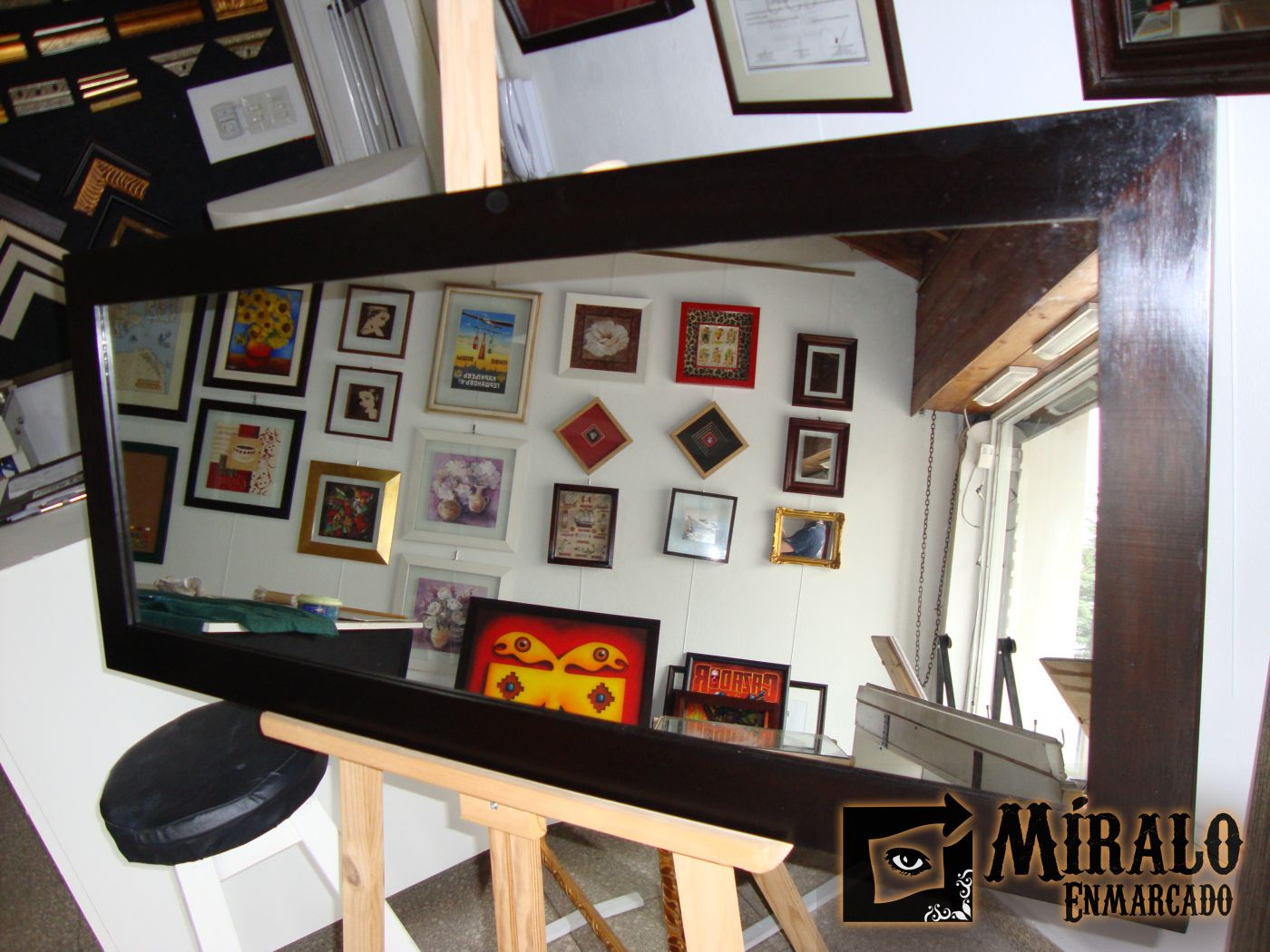 Espejos decorativos para ba os y ambientes a medida for Banos decorativos
