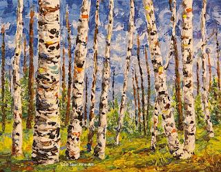 aspen trees art