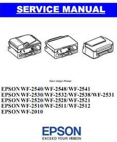 Epson WF-2538 Resetter Download
