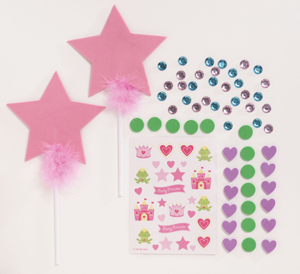 Princess party ideas the complete kids party made easy for Princess wand craft kit