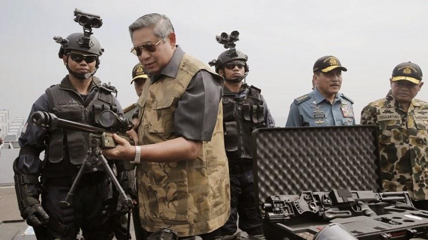 Presiden SBY : Militer Menghadapi Tantangan Yang Berubah