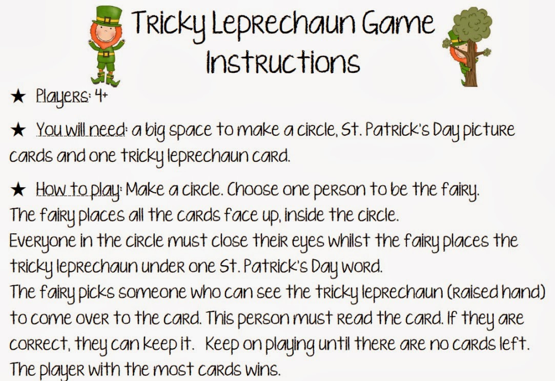 St. Patrick's Day resource bundle Clever Classroom