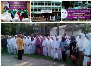 Praktek Manasik Umroh di Asrama Haji Bekasi