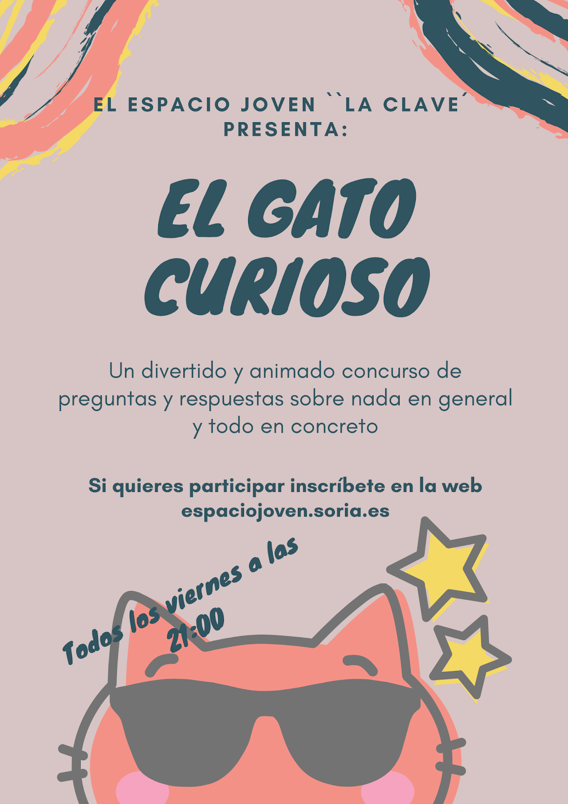 CONCURSO: EL GATO CURIOSO