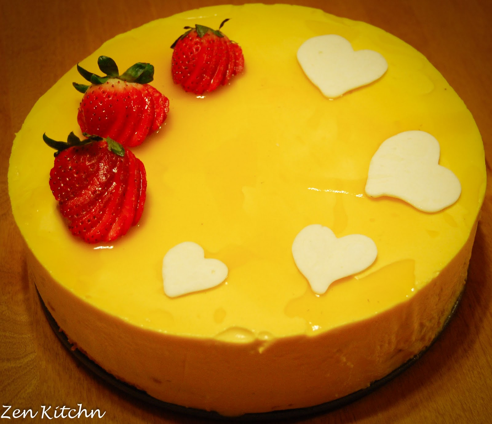 Images For Mango Cake : Zen Kitchn: Mango Mousse Cake