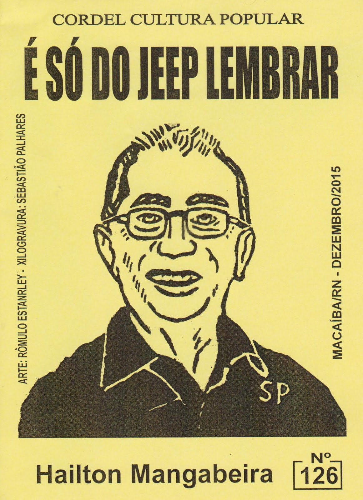 Cordel: É só do Jeep lembrar, nº 126. Dezembro/2015