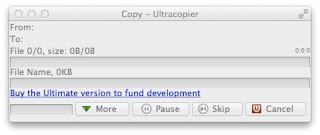 mac ファイルコピーツール ultracopier