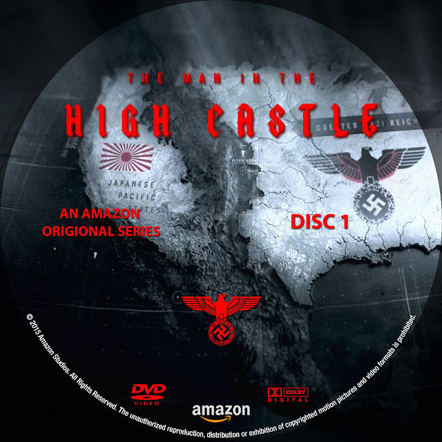 Label DVD The Man In The High Castle Season 1