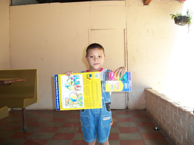Orphans in El Salvador are thrilled to recieve the smallest gifts.
