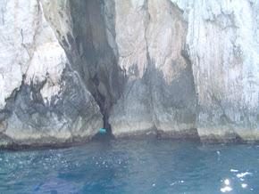 Grotta Azzurra (Kék-barlang), Capri