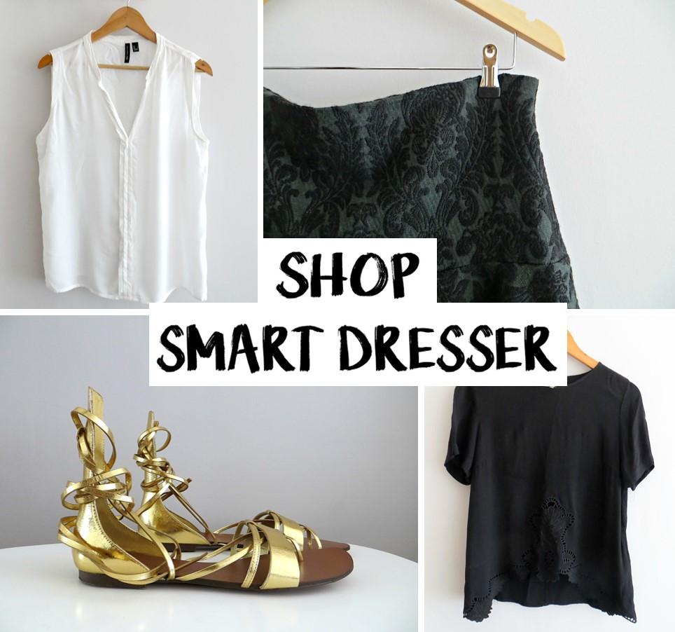 SHOP SMART DRESSER