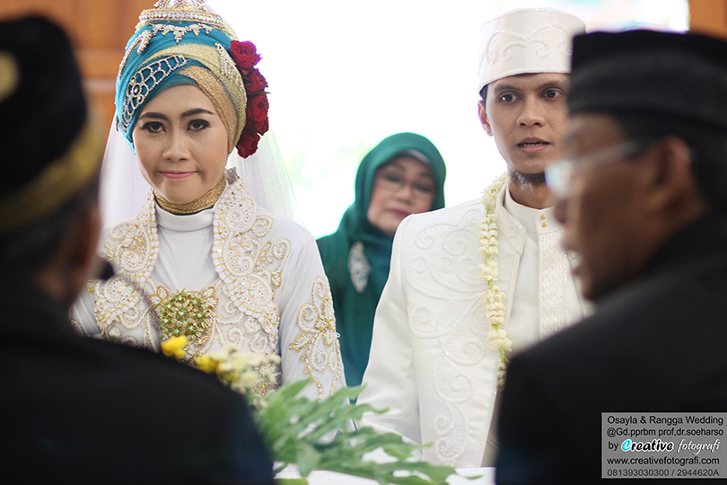 foto candid wedding ijab kabul