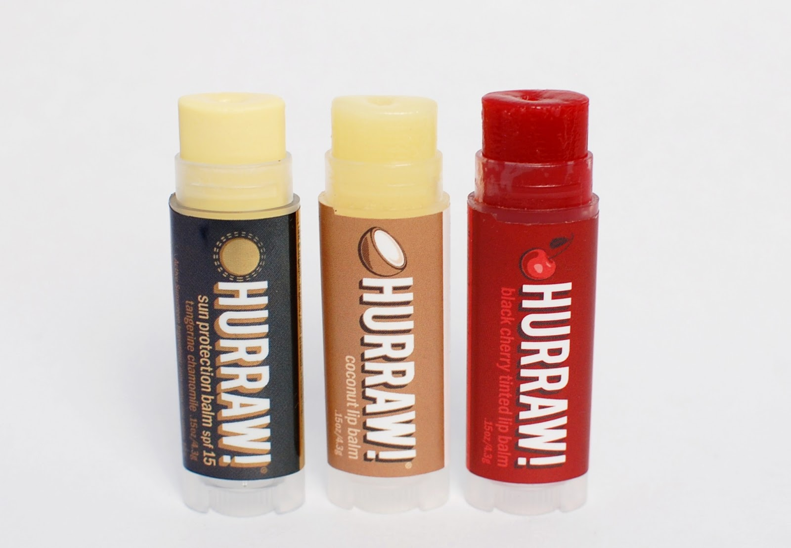 Hurraw! Sun Protection, Black Cherry, Coconut Balm
