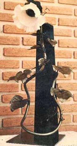 Abajur ~ Parreira de uva