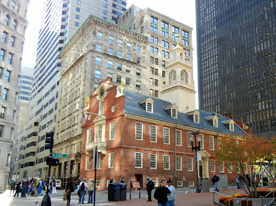 Old State House in downtown Boston