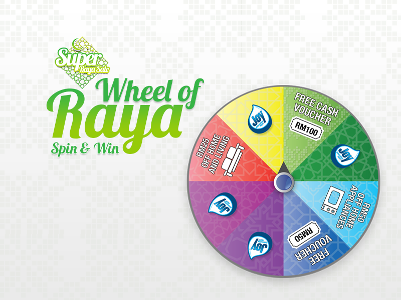 wheel of raya lazada